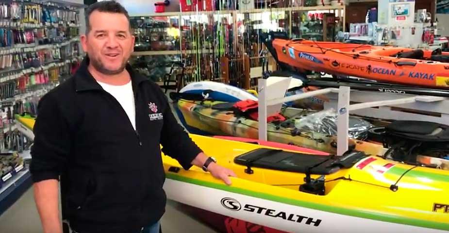 Conoce el kayak Pro Fisha 475 de Stealth